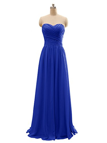 BRIDESMAID DRESS - RUSH, Color - Rayal Blue 3