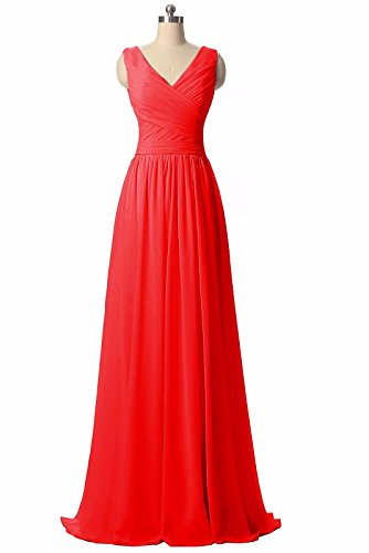 BRIDESMAID DRESS - RUSH, Color - Red 2