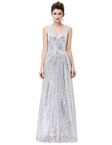 Sequined Maxi Prom Dresses Long Prom Dress All Sequin Prom Dress