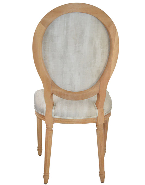Faux Bois Chair - platinum