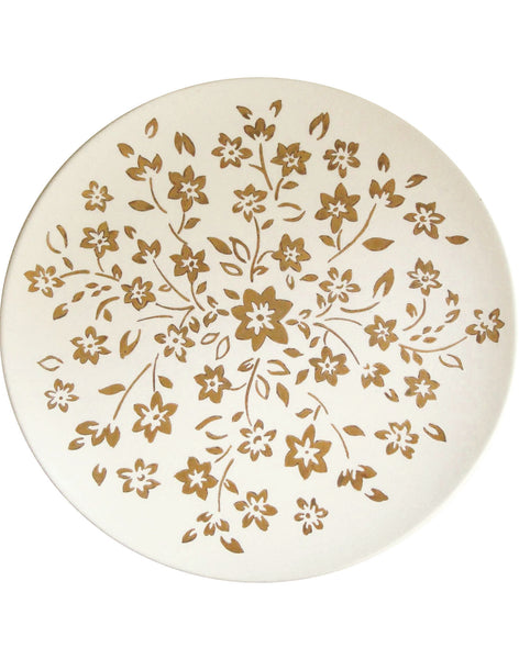 Floral Spray Serving Plate
