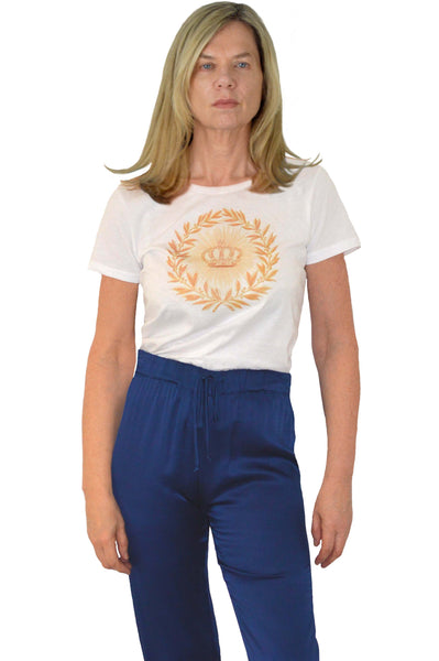 Garland Sunburst Organic Cotton Graphic T Shirt