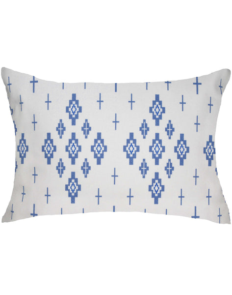 Celestial Lights Pillow - blue