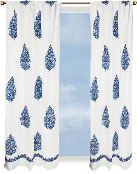 medallion fabric white shower agua in blue cynthia on dp shades of rowley medallions curtain