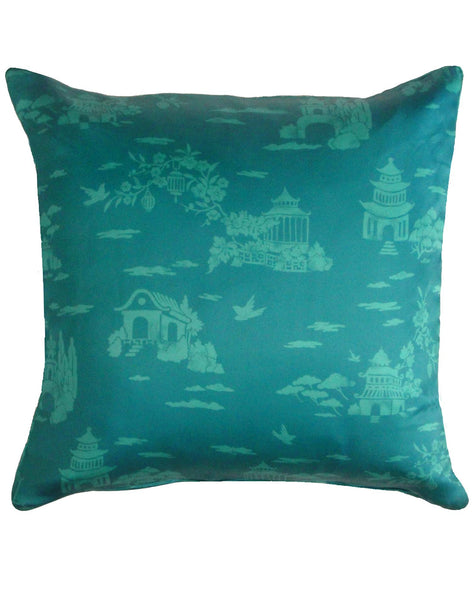 Living in Clouds pillow - jade