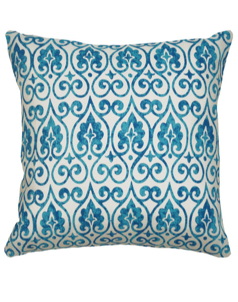 Moroccan Lights Pillow - turquoise