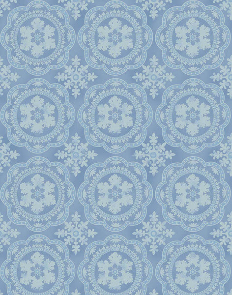 Mediterranean Tile Wallpaper - Blue