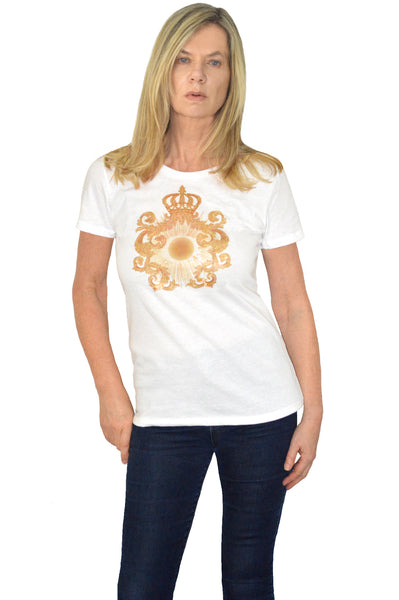 Solar Crest Organic Cotton Graphic T-Shirt