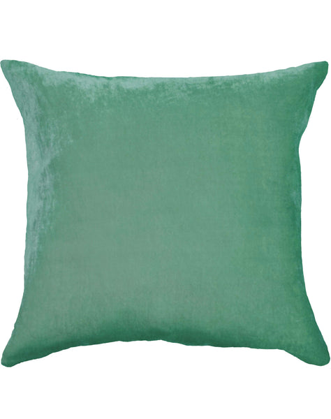 Velvet Pillow - Celery Green