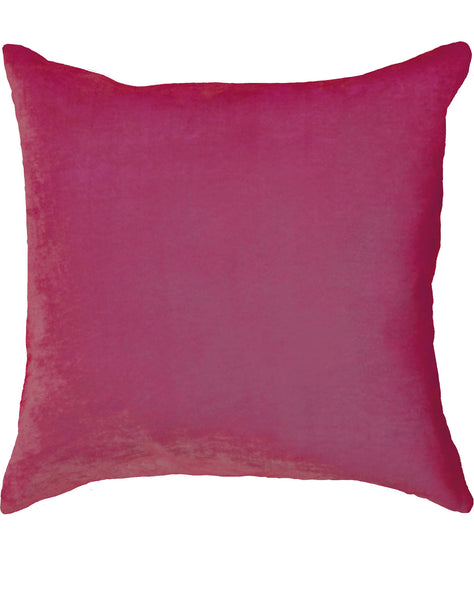 Velvet Pillow - Dark Pink