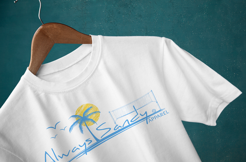 Always Sandy Beach Volleyball Design