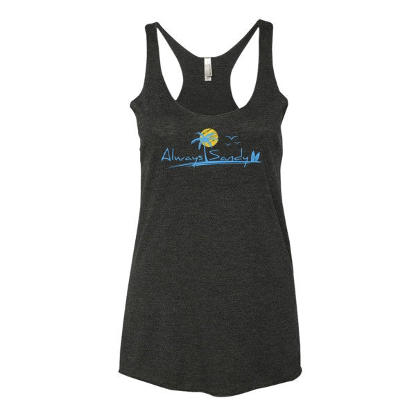 Women's Tank Top - Racerback - Sun - Always Sandy