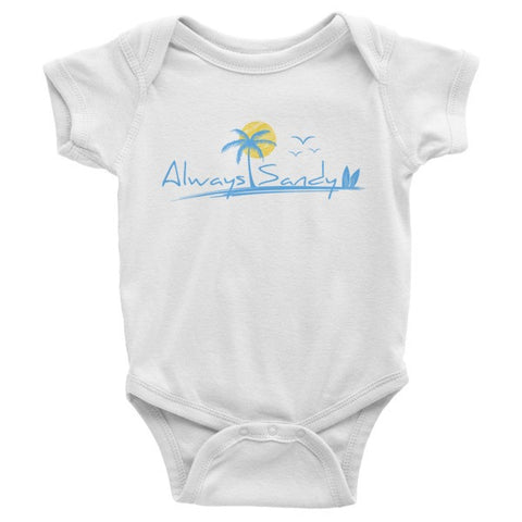Infant Short Sleeve Onesie - Sun - Always Sandy