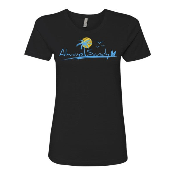 Women's T-shirt - Long - Sun - Always Sandy