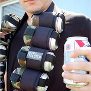 Camo Beer Belt Bandolier