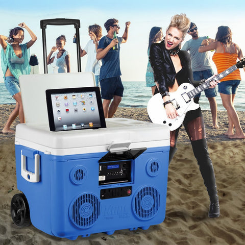 Cooler With Bluetooth & Speakers