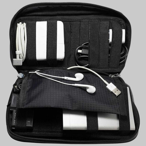 Travel Chargers & Cords Organizer