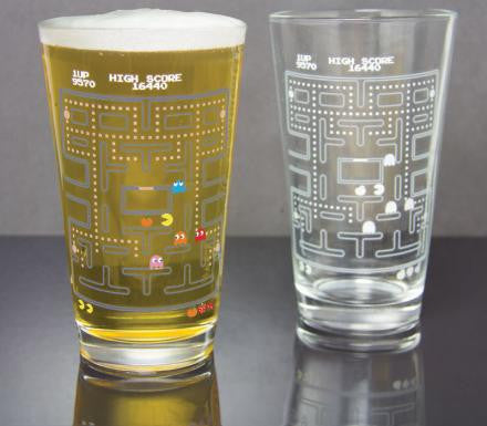 Pacman Cold Change Pint Glass