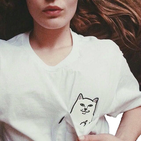 Pocket Cat T-Shirt