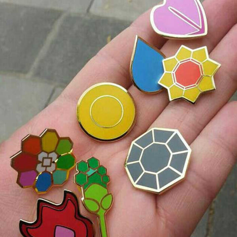 Pokemon Gym Badges