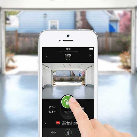 Wireless Garage Door Sensor