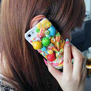 Candy & Fruit iPhone Case