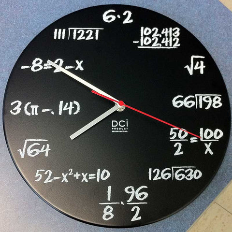Mathematics Quiz Clock