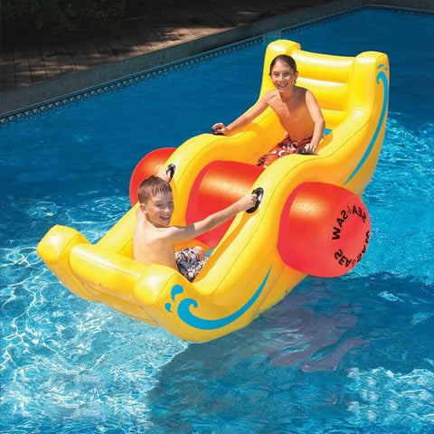 Inflatable Seesaw For Pool
