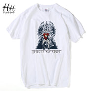 The Big Bang Theory Games Of Thrones T Shirt - Iron Throne - This Is My Spot Sheldon Cooper Tee shirt