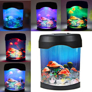 Mini Jelly Fish Tank Lamp