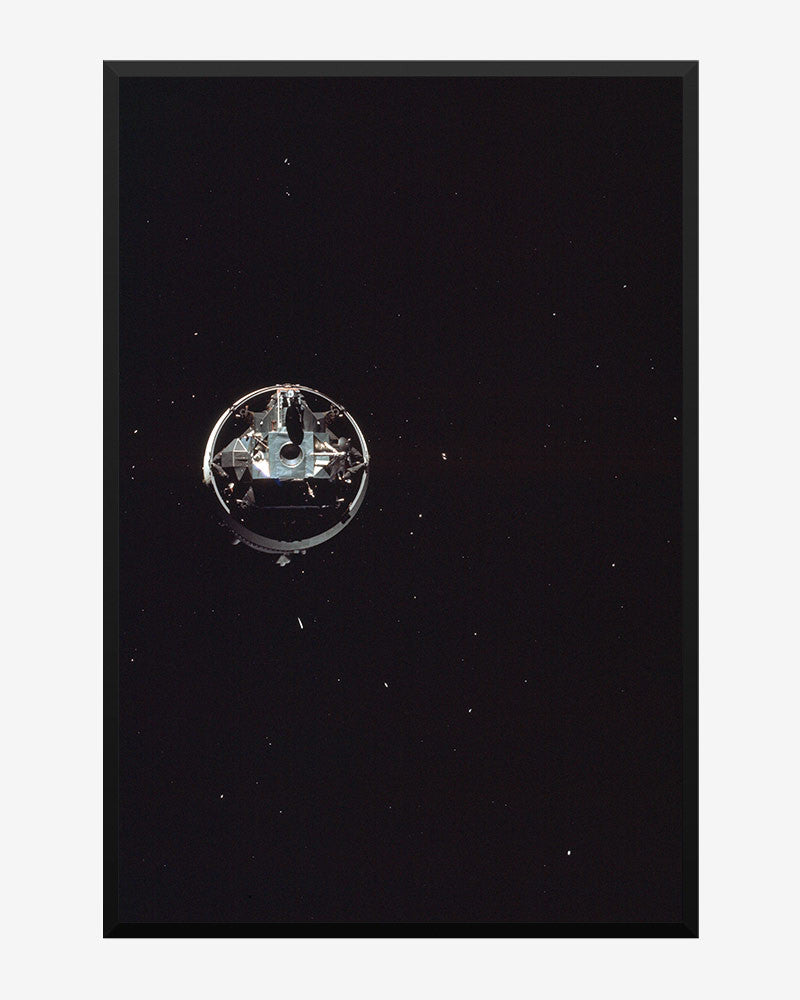 space posters, nasa posters, apollo 10 images, floating by