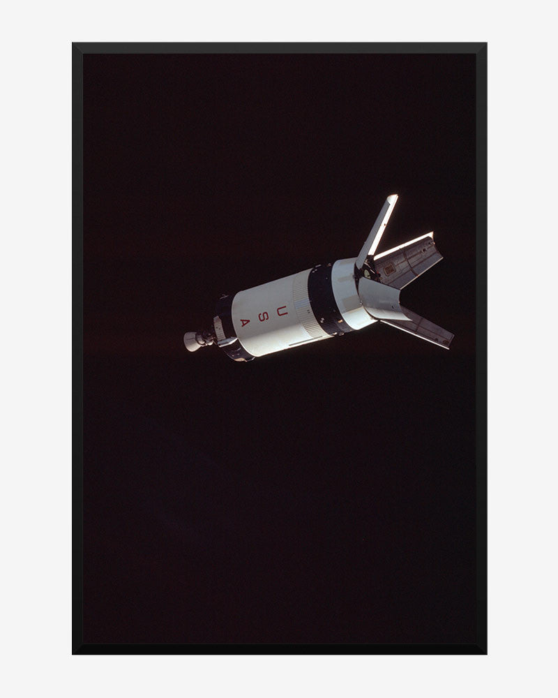 space posters, nasa posters, apollo 7 images, saturn v thrid stage