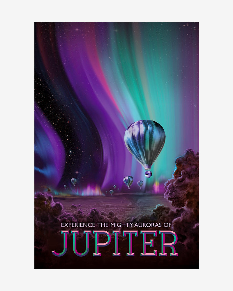 space posters, nasa visions of the future, jupiter