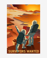 Surveyors Wanted - NASA Mars Explorers Wanted