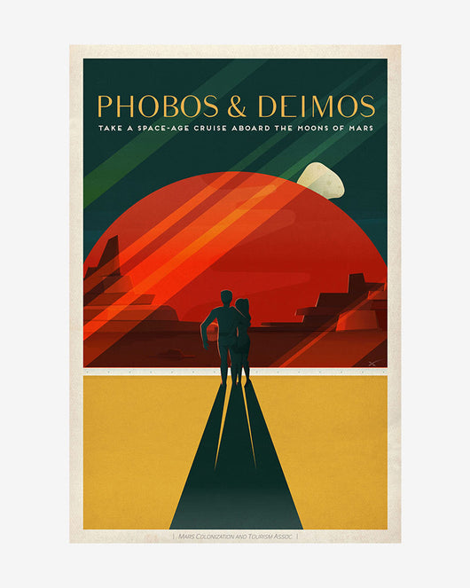 Phobos & Deimos - SpaceX Mars Travel