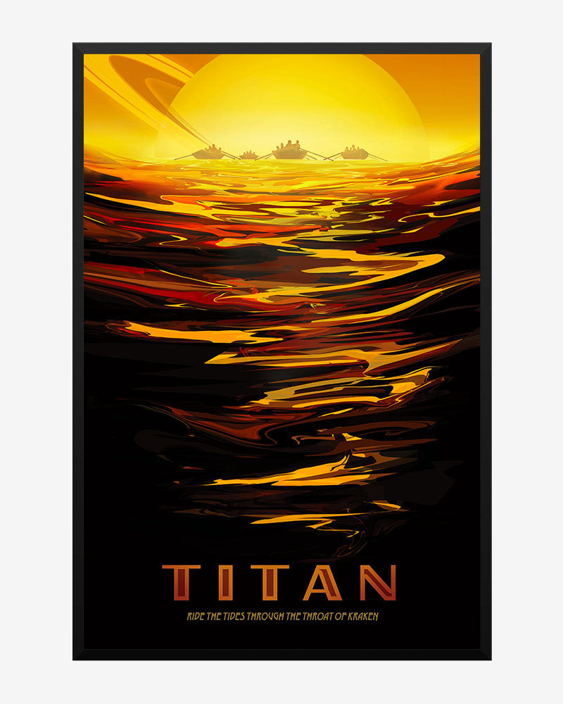 space posters, nasa visions of the future, titan