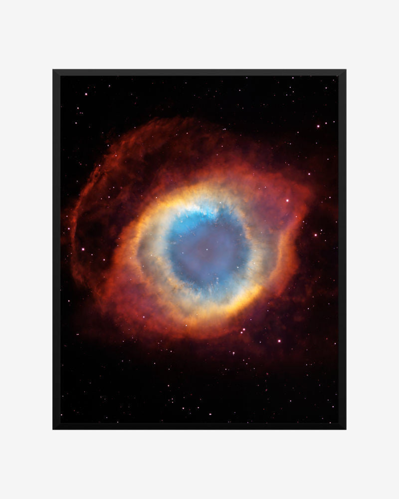 space posters, astronomy posters, vista telescope images, helix nebula