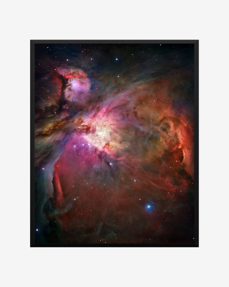space posters, astronomy posters, hubble images,  orion nebula, messier 42