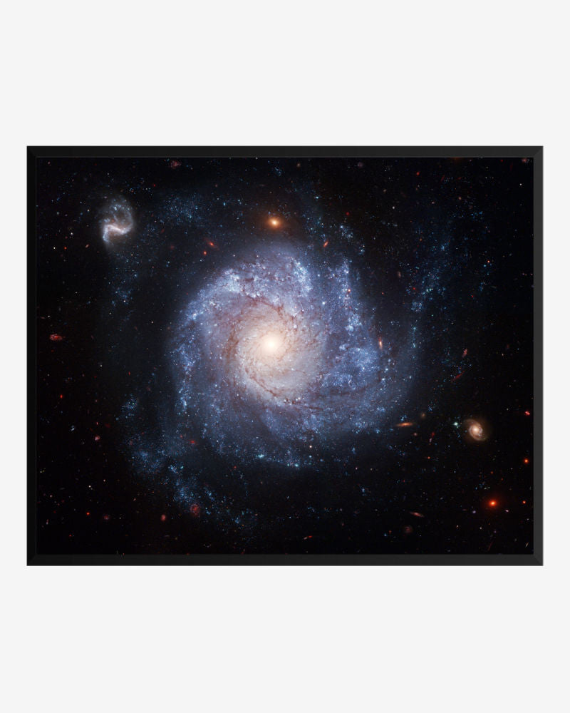 space posters, astronomy posters, hubble images, spiral galaxy ngc 1309