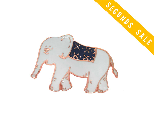 Charity Seconds Sale: Emmett the Elephant Enamel Pin