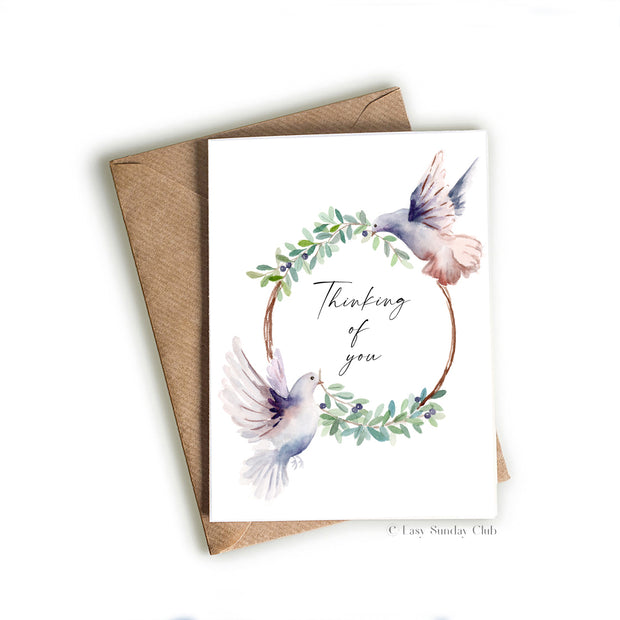 Thinking Of You Greeting Card 1