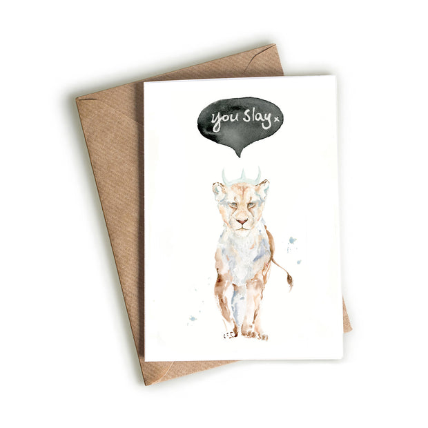 Lioness - You Slay Card 1