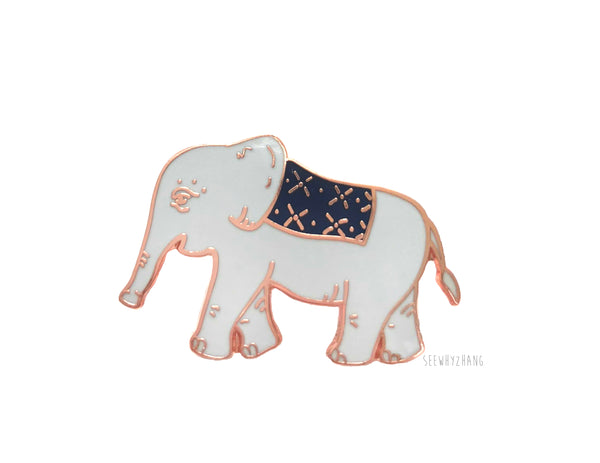 Emmett the Elephant Enamel Pin