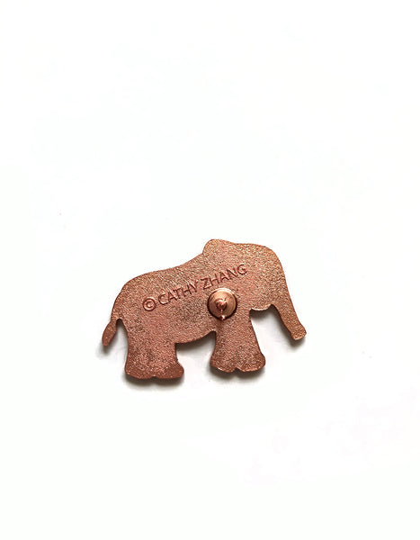 (Only 2 left) Emmett the Elephant Enamel Pin