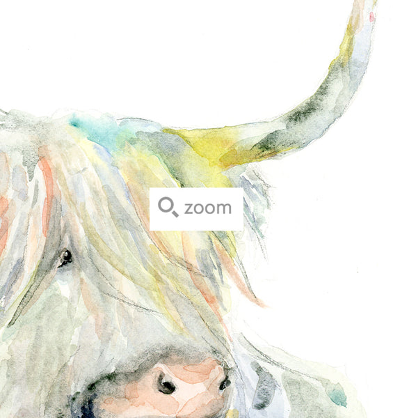 Rebel Ox - Watercolor Art Print