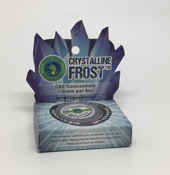 Crystalline Frost Isolate 1 Gram CBD