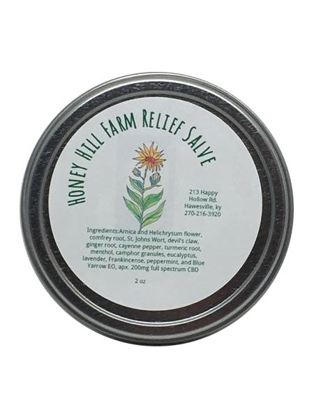 Honey Hill Farm Relief Salve 200mg