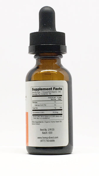 1000mg Isolate  Tincture