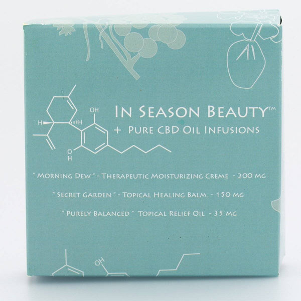 In Season Beauty Sample Gift Set