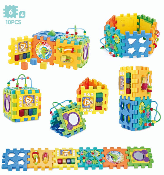 MUSICAL MULTIFUNCTIONAL PUZZLE CUBE - Children Islamic Collection